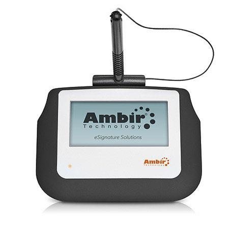 Ambir ImageSign Pro 110 Electronic Signature Capture Pad, 4
