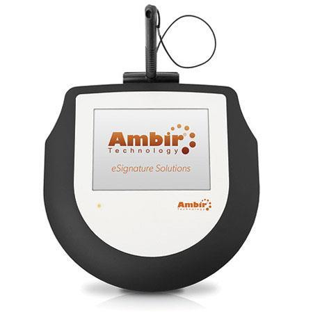 Ambir ImageSign Pro 200 Electronic Signature Capture Pad, 5