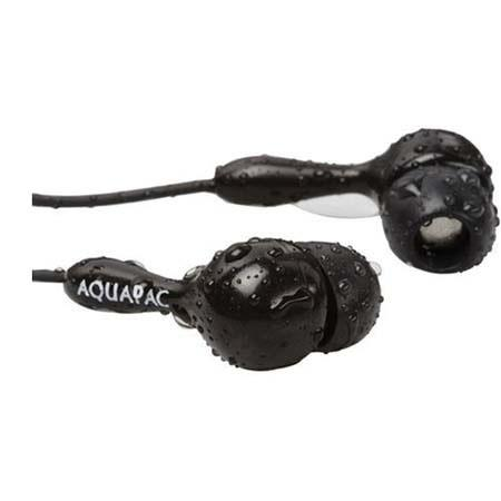 Aquapac Waterproof, Submersible Headphones with In-the-Ear Design, 3.5mm plug, Depth to 30ft / 10m image
