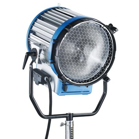 "Arri Studio T12 Tungsten Fresnel Light with 16.5"" Lens, Pole Operated Model, 12,000 Watt, 220 Volts AC."