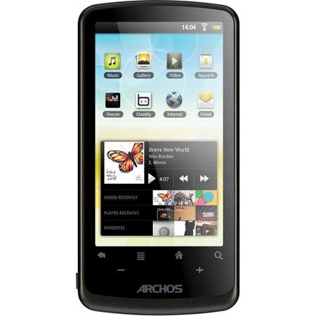 "Archos 4GB 35 Internet Tablet, 3.5"" LCD Touchscreen, ARM Cortex A8 800 MHz Processor, 272x480 Resolution, Wi-Fi 802.11 b/g/n"