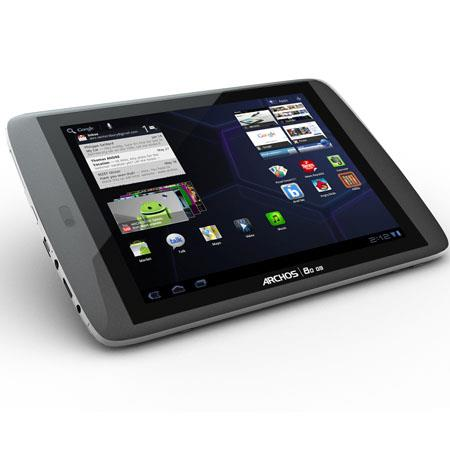 "Archos 80 G9 Turbo 8"" Capacitive Multi-Touch Android 4.0 Tablet, ARM Cortex A9 1.5GHz Processor, 250GB HDD, WiFi 802.11 b/g/n"