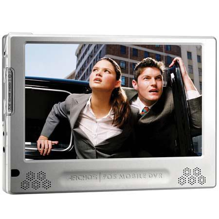 "Archos 705, 80 GB Ultra-Compact Portable Multimedia Player with 7"" LCD Screen image"