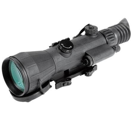 Armasight Spear 4x Gen 2+ ID Night Vision Riflescope, Illuminated Reticle, 47-54 lp/mm Resolution, 108mm f/1.5 Lens, 46mm Eye Relief, Waterproof