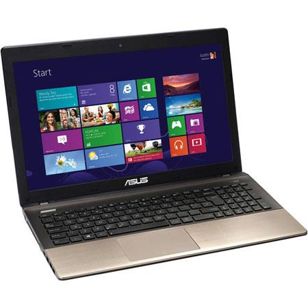 "Asus K55A-DH51 15.6"" Notebook Computer, Intel Core i5-3210M 2.5GHz, 4GB DDR3 RAM, 750GB 5400 RPM HDD, Windows 8 64-bit"
