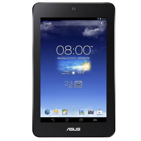 "Asus MeMO Pad HD 7"" Android 4.2 Tablet Computer, Quad-Core 1.2 GHz, 1GB RAM, 16GB Storage, 1.2MP Front Camera, 5MP Rear Camera, White"