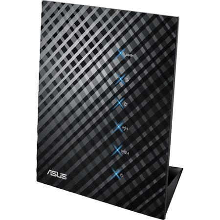 Asus RT-N65U Dual-Band Wireless-N750 Gigabit Router, 2.4G-2.4835GHz /5.1-5.8GHz Operating Frequency, Wireless IEEE 802.11a/b/g/n Network Standard