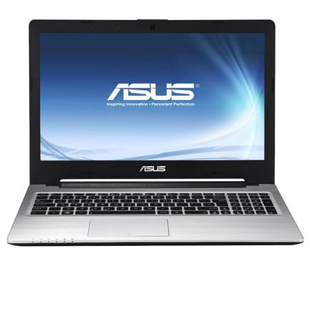"Asus S56 15.6"" Ultrabook Computer, Intel Core i5-3317U 1.7 GHz, 6GB DDR3 RAM, 750GB 5400 rpm HDD + 24GB SSD, Windows 8 Home Premium 64-bit"