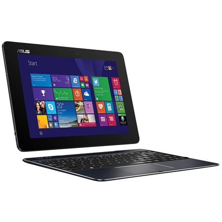 "Asus T100-Chi Transformer Book 10.1"" Full HD IPS 2-in-1 Notebook Computer, Intel Atom Z3775 1.46GHz, 2GB RAM, 64GB eMMC Storage, Windows 8.1, 1 Year Office 365 Personal, Black"