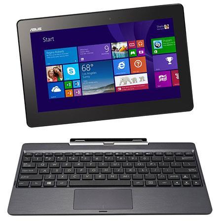Asus Transformer Book 10.1 Detachable 2-in-1 Touchscreen Notebook Computer, Intel Atom Z3740 1.33GHz, 2GB RAM, 64GB SSD + 500GB HDD, Windows 8.1