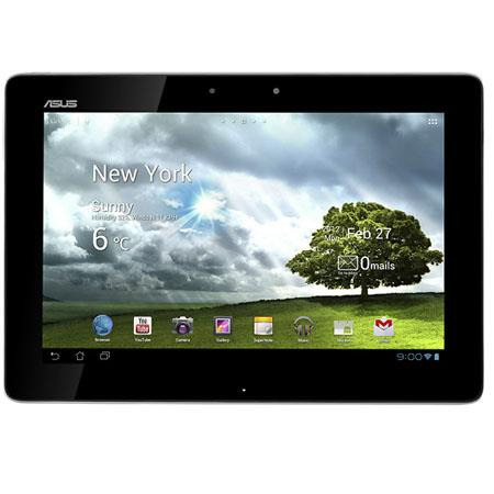 "Asus 32GB Transformer Pad TF300T 10.1"" Tablet, NVIDIA Tegra 3 Quad-Core 1.2GHz, 1GB Memory, 32GB Flash Storage, Android 4.0 Ice Cream Sandwich, White"