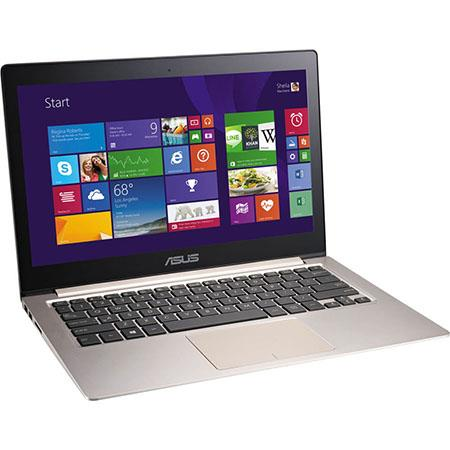 "Asus ZenBook UX303LA-DB51T 13.3"" Multi-Touch Notebook Computer, Intel Core i5-4210U 1.7GHz, 8GB RAM, 128GB SSD, Windows 8.1, Brown"
