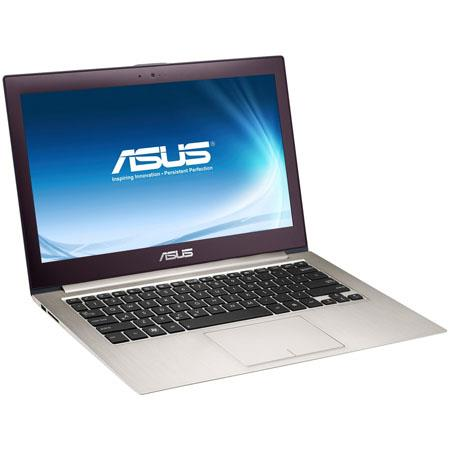 "Asus Zenbook UX32VD-DS72 13.3"" Ultrabook Computer, Intel Core i7-3517U Dual-Core 1.9GHz, 4GB RAM, 2x128GB SSD, Windows 8"