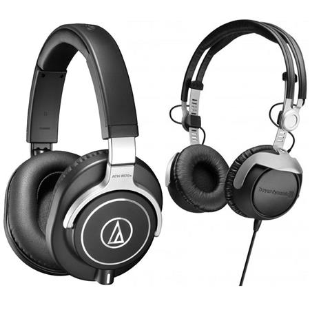 audio technica ath m70x pro monitor headphones w beyerdynamic dt 1350 headphone ath m70x r. Black Bedroom Furniture Sets. Home Design Ideas