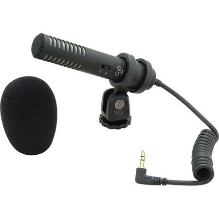 Audio-Technica Pro-24CM Stereo Condenser Microphone with Camera Shoe Mount