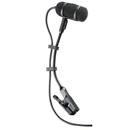 Audio-Technica Pro-35cW Cardioid Condenser Microphone with AT8418 Clip-On Instrument Mount
