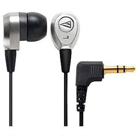 Audio-Technica ATH-CK7 QuietPoint Passive Noise-Reducing Titanium Earphones 11 mm Diameter image