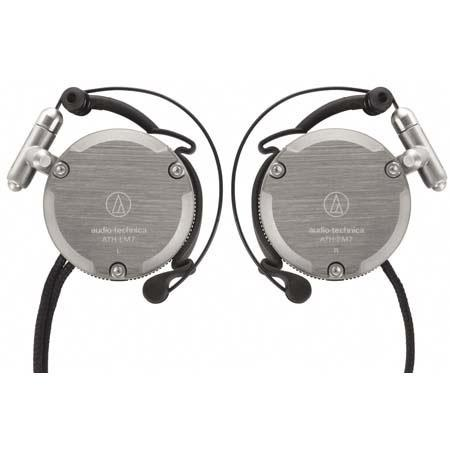 Audio-Technica Adjustable Aluminum Clip-on Headphones image