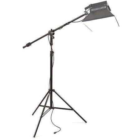 Alzo Digital Studio Boom Kit with Boom Arm, Stand & Universal Junction, Black