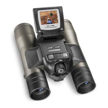 "Barska 8 x 32 Point N' View Digital Imaging Binocular with Built-in 5.0 Mega Pixel Digital Camera with 1.5"" TFT Color Screen image"