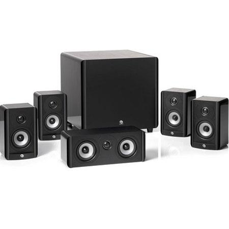 "Boston Acoustics A 2310 HTS 5.1 Home Theater Speaker System, Four 2-Way Satellite Speakers, 2-Way Center Channel Speaker, 10"" Down-Firing Subwoofer"