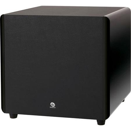 "Boston Acoustics ASW250 250-Watt Peak 10"" Down-Firing Powered Subwoofer"
