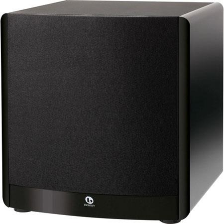 "Boston Acoustics ASW650 650-Watt Peak 10"" Front-Firing Powered Subwoofer"