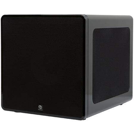"Boston Acoustics Reflection Series RPS 1000 Front-Firing 10"" 1000-Watt Peak Powered Subwoofer with Dual 8"" Radiators"