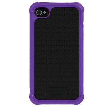 Ballistic Shell Gel (SG) Case for iPhone 4/4S - Purple/Black