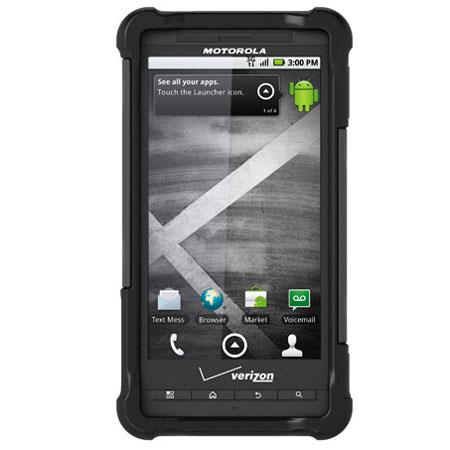 Ballistic Shell Gel (SG) Case for Motorola Droid X & Droid X2 - Black/Grey