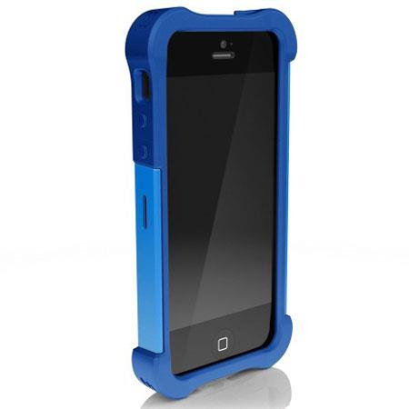 Ballistic Shell Gel Maxx Case for iPhone 5, Cobalt