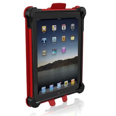 Ballistic Tough Jacket Case for Apple iPad 2, iPad 3 & iPad 4 - Black/Red