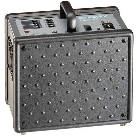 Broncolor Broncolor Broncolor Topas A2 RFS 100-240 V 1600 Ws Power Pack with 2 Head Outlets, Symmetrical and Asymmetrical.