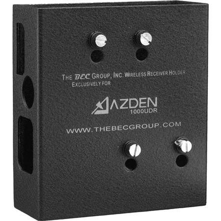 BEC Group Wireless Receiver Mounting Box for Azden 1000 UDR Receiver to Video Cameras