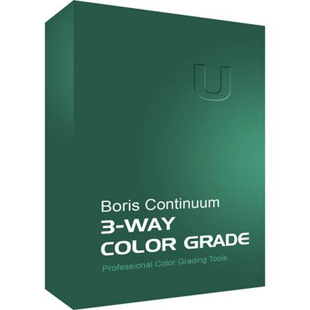Boris FX Continuum 3-Way Color Grade Mac (Download)