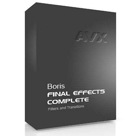 Boris FX Final Effects Complete 6 AVX for BCC 8 AVX or FEC AVX Users Mac (Download)