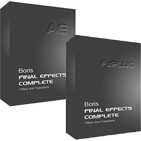 Boris FX Final Effects Complete 5 FxPlug and Complete 6 AE Bundle Mac (Download)