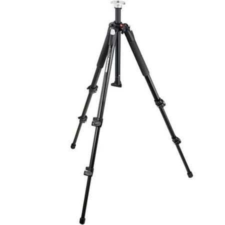 "Manfrotto Manfrotto 055XB Black Tripod Legs (Height 2.76-70"", Maximum Load 15.40 lbs)"