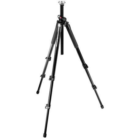 """Manfrotto Manfrotto 055XPROB Black Tripod Legs (Height 2.76-70"""", Maximum Load 15.40 lbs)"""