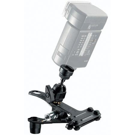 Bogen - Manfrotto Spring Grip Clamp with Attached Flash Shoe. image