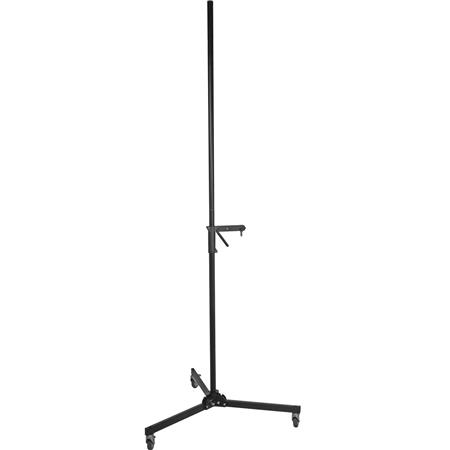 Bogen - Manfrotto Black 8' Column Light Stand with Sliding Arm image