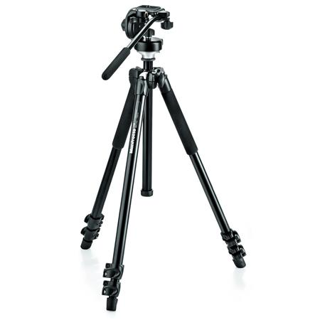 Manfrotto 294 Aluminum 3 Section Tripod with 128 RC Head