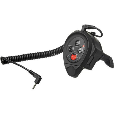 Manfrotto RC Clamp LANC Remote Control for Canon/Sony Cameras, Black