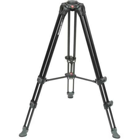 Manfrotto Telescopic Twin Leg Video Tripod, 33lbs Load Capacity