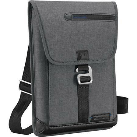 Brenthaven Collins iPad Tech Pack Case - Heather Gray