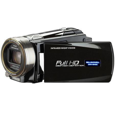 Bell & Howell DNV16HDZ Full HD Rogue Night Vision Camcorder, 16MP, 3