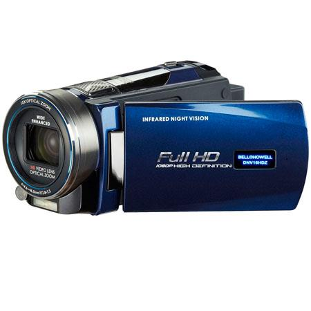 "Bell & Howell DNV16HDZ Full HD Rogue Night Vision Camcorder, 16MP, 3"" LCD Monitor, 10x Optical Zoom & 100x Digital Zoom, 1920 x 1080p Resolution, B"