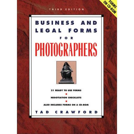 Business and Legal forms for Photographers by Tad Crawford, ISBN: 158115206X image