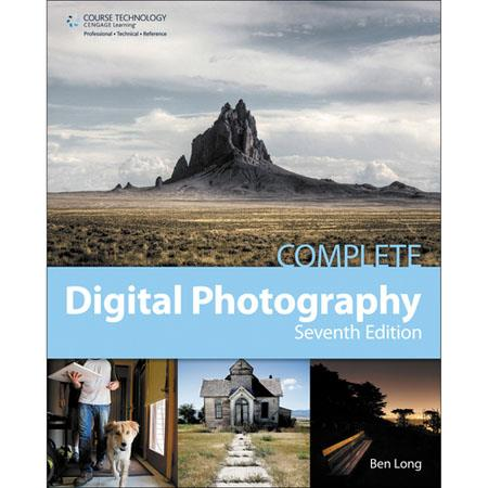 Cengage Course Tech Book: Complete Digital Photography, 7th Edition, 598 Pages