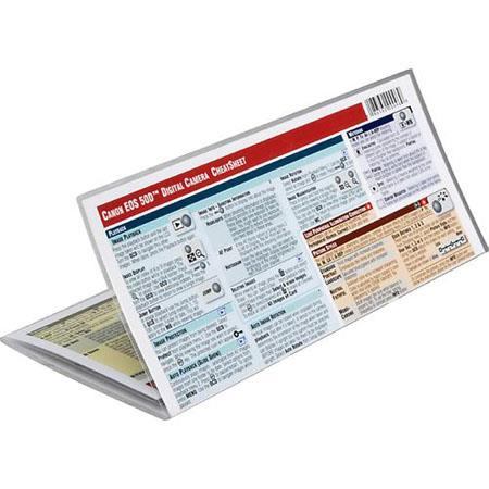 PhotoBert Photo CheatSheet for Canon EOS 50D Digital SLR Camera
